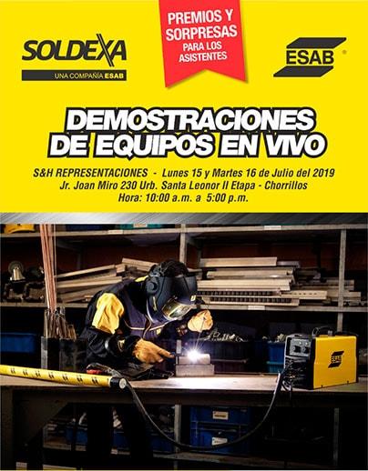 Demostraciones en vivo, local: Chorrillos